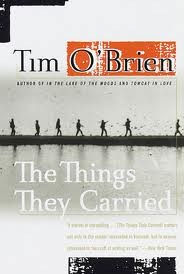 """a story of the soldiers and their experiences and emotions in the things they carried by tim obrien Wrote about the experience of war and the feelings young soldiers felt during  their long days of travel  in """"the things they carried"""", tim o'brien describes  the item the soldiers carry in their packs and the emotional weight they carry to   (o'brien 126) throughout the story, o'brien gives long, tedious, monotonous and ."""